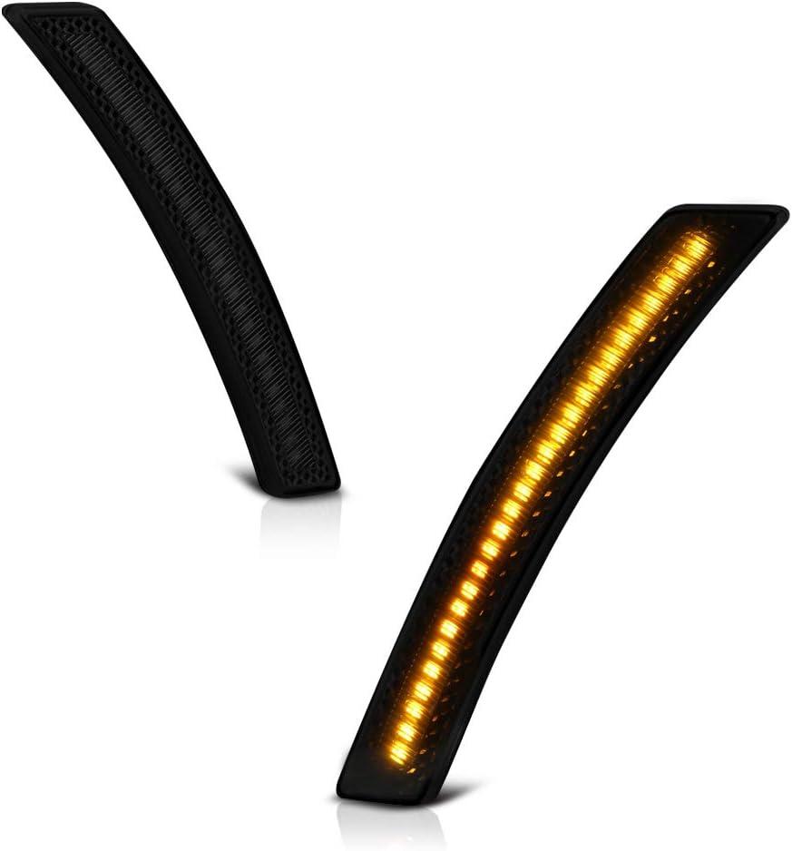 Max 79% OFF VIPMOTOZ Front Wheel Arch Full LED Marker Award Smoke Side Dark Light