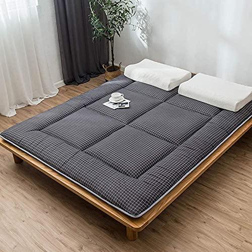 LEERAIN Colchón de Piso Tatami, Piso japonés Tradicional Futon Colchones Isomatte, Residencias de Alumnos cómodas Suaves en Casa Futon Matters,180 * 200