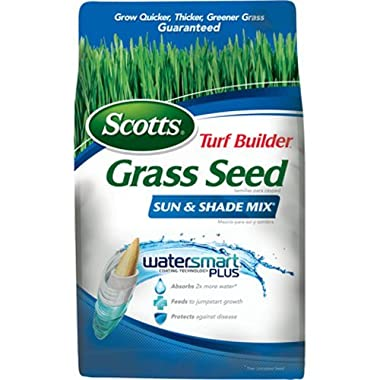 Scotts Turf Builder Grass Seed - Sun and Shade Mix, 20-Pound (Not Sold in Louisiana)