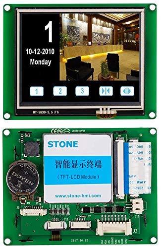 SCBRHMI Intelligentes 3,5 Zoll TFT LCD Display mit HMI Programmierung und LCD Touch Screen für eingebettetes System