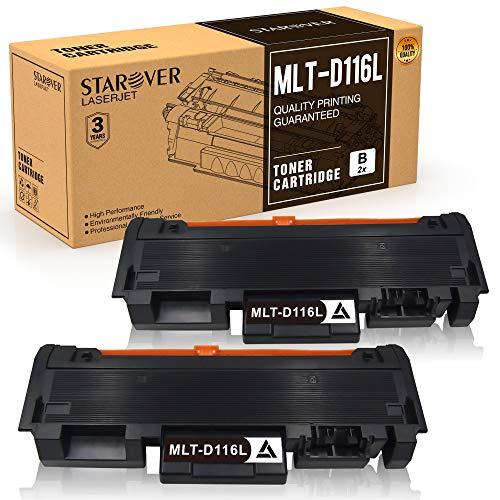 STAROVER MLT-D116L MLT-D116S Cartuccia Toner Sostituire Per Samsung Xpress SL M2675F M2835DW M2675 M2675FN M2676 M2625 M2625D M2825DW M2825ND M2826 M2875 M2875FD M2875FW M2876 M2885FW (2 Pezzi)