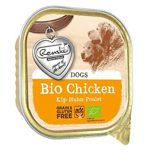 300 GR Renske hond graanvrij biologisch kip hondenvoer