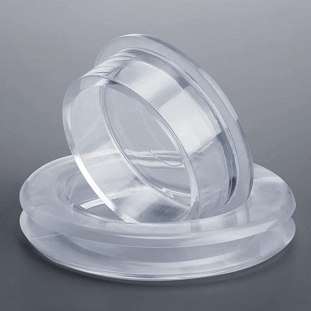 Chiyyak 2 piezas de silicona para sombrillas de mesa con agujero para sombrilla, para patios, patios, diámetro interior: 4,2 cm