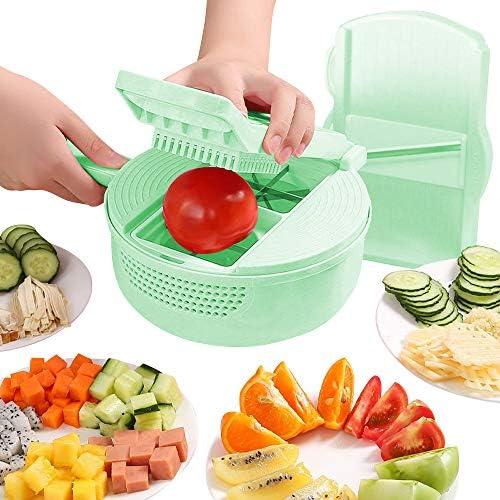 Vegetable Mandoline Slicer 13 in 1 Vegetable Spiralizer Cutter and Shredder Kitchen Multipurpose product image