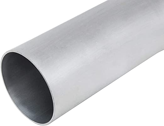 HPS AST-2F-125 6061 T6 Seamless Aluminum Round Straight Tubing 0.065 Wall Thickness 2 Length 1.25 OD 16 Gauge