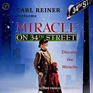Miracle on 34th Street audiobook cover art