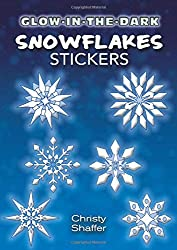 Glow-in-the-Dark Snowflakes Stickers (Dover Little Activity Books Stickers)