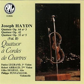Haydn: Quatuors à Cordes, Op. 64, 42 & 33
