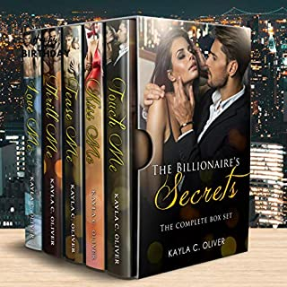 The Billionaire's Secrets Complete Series Box Set                   By:                                                                                                                                 Kayla C. Oliver                               Narrated by:                                                                                                                                 Ken Solin                      Length: 19 hrs and 54 mins     5 ratings     Overall 4.2
