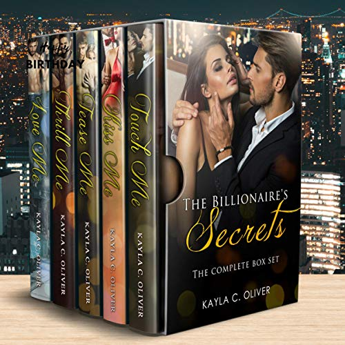 The Billionaire's Secrets Complete Series Box Set                   By:                                                                                                                                 Kayla C. Oliver                               Narrated by:                                                                                                                                 Ken Solin                      Length: 19 hrs and 54 mins     Not rated yet     Overall 0.0
