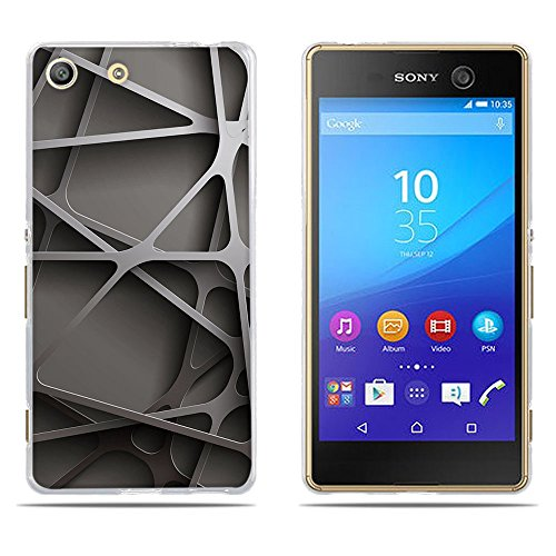 DIKAS Sony Xperia M5 (E5603 E5606 E5653) Hülle, 3D Mode Muster Transparente Silizium TPU Mode Kreative Matte TPU Vollkarosserie Schutz für Sony Xperia M5 (E5603 E5606 E5653)- Pic: 13