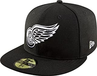 New Era NHL Basic Black and White 59Fifty Fitted Cap