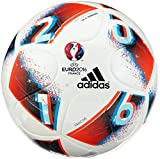 adidas Euro 2016 Sala Training Ballon de Futsal d'entraînement Blanc/Bleu/Rouge/argenté Taille Unique