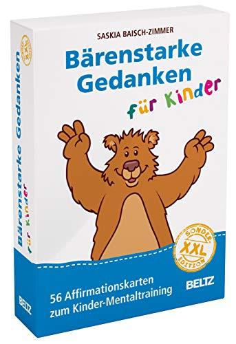 Bärenstarke Gedanken für Kinder XXL-Sonderedition: 56 Affirmationskarten zum Kinder-Mentaltraining