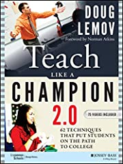 An excellent gift for educators, administrators and education majors Book contains 62 techniques that put students on the path to college Includes 75 video suggestions (found on my.teachlikeachampion.com) Features the latest and best practices used b...