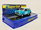 Slot Car Scalextric Superslot H3913 Austin Mini Cooper s Nº106 Targa Florio 1962