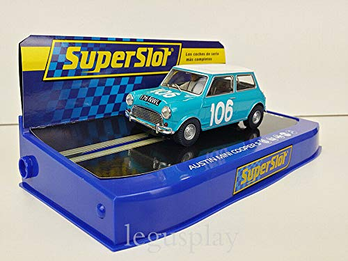 Slot Car Scalextric Superslot H3913 Compatible Austin Mini Cooper s Nº106 Targa...