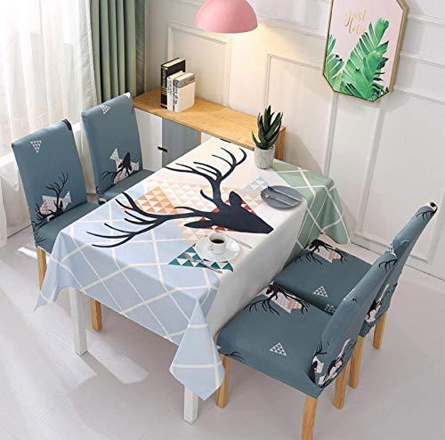 ggzgyz Jardín Impermeable nórdico pequeño Tejido Fresco hogar Textil Mantel Mantel Mantel