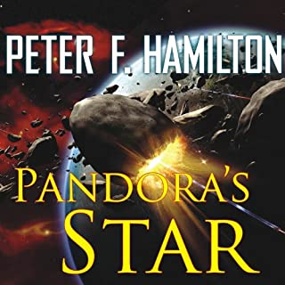 Pandora's Star audiobook cover art