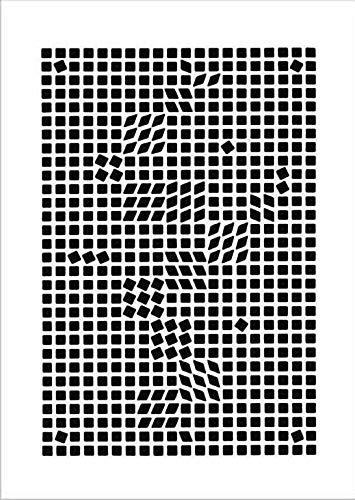 Kunstdruck/Poster: Victor Vasarely Tlinko 1955