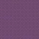 babrause® Baumwollstoff Pünktchen Violett Webware