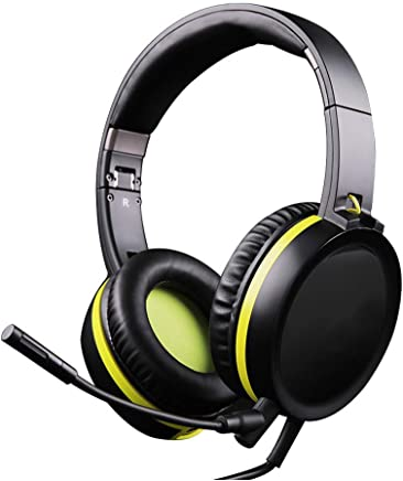 HBOY Gaming Headset Headset Phone Tablet ESP Single Plug Voice Headset con Microfono - Trova i prezzi più bassi