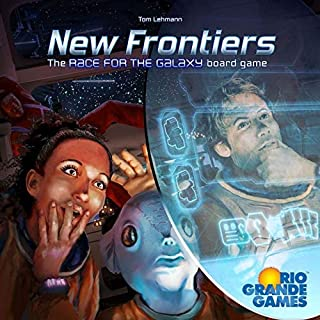 new frontiers race for the galaxy board game