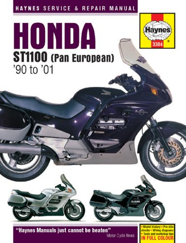 Honda ST1100 Pan European (1990-2001) Service and Repair Manual