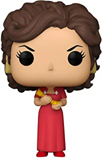 Funko Pop! Retro Toys: Clue - Miss Scarlet with Candlestick Red, One Size