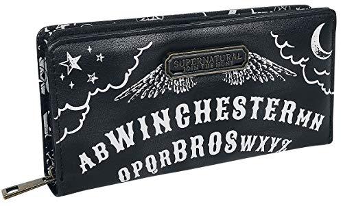 Supernatural Ouija Geldbörse schwarz