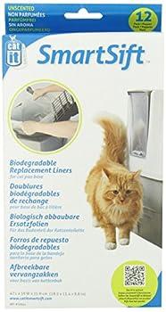 Cat it Litière pour Chats Sac Biodégradable 12 Pièces