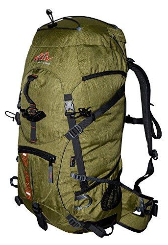 Sac de randonnée 40 l tashev Eiger 40 Sac à dos en Cordura® d'escalade avec système d'hydratation Dispositif avec housse de pluie (fabriqué en Europe), Eiger, vert