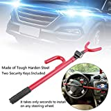 Universal Anti-Theft Car Steering Wheel Lock Auto Steering Wheel Security Lock for Cars