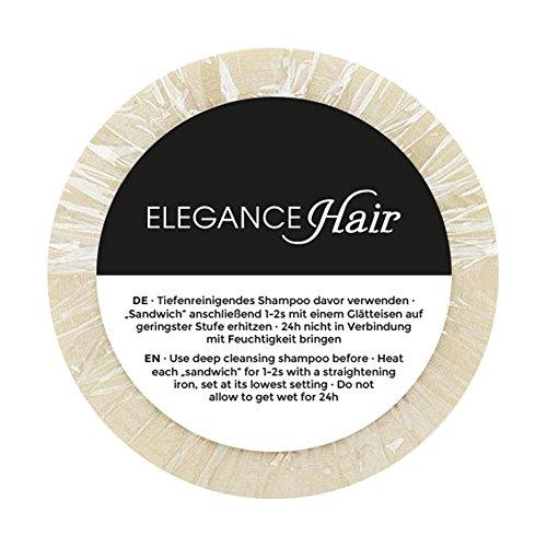 ELEGANCE-HAIR® Tape Extensions Klebeband Rolle - EXTRA STARK - Doppelseitig Transparent 2,7m Lang & 12mm Breit für Haarverlängerung Zweithaar