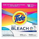 Tide Laundry Detergent with Bleach Powder, Orange, Original, 95 Ounce