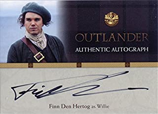 Outlander Season 1 Autograph Card FDH Finn Den Hertog as Willie