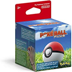 Poké Ball Plus lights up, vibrates, and plays sounds based on what you do in Pokémon: Let's Go, Pikachu; or Pokémon: Let's Go, Eevee; If a friend has a Poké Ball Plus of their own, they can help you catch and battle alongside you to make it a 2 playe...