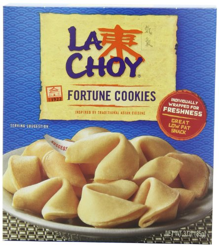 La Choy Fortune Cookies, 3 oz, 12 Pack
