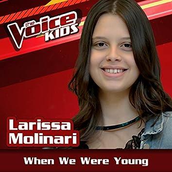 When We Were Young (Ao Vivo / The Voice Brasil Kids 2017)