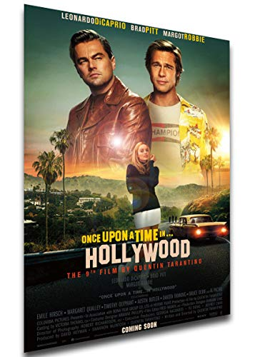 Instabuy Poster - Playbill - Once Upon a time in Hollywood Variant 7 Manifesto 70x50