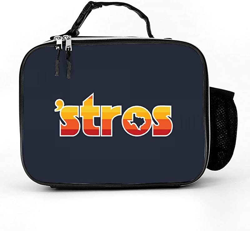 YGYP Detachable Leather Lunch Bags Astro Inspired Stros Throwback Personalized Lunch Box For Women For Women Men Work Picnic Or Travel