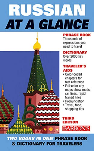Russian at a Glance (Barron's Foreign Language Guides)