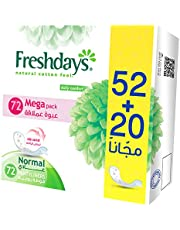 Freshdays Sanitary Napkins, 72 Pieces