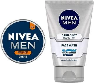 NIVEA MEN Cream, Dark Spot Reduction, 30ml and NIVEA MEN Face Wash, Dark Spot Reduction, 100ml