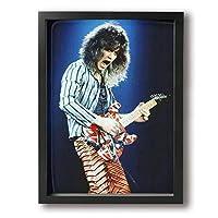 魅力的な芸術 ヴァン ヘイレン Van Halen アートパネル ポスター モダン 北欧 印象派 インテリア キャンバス アートデリ 雑貨 オシャレ 壁掛け 木枠付き