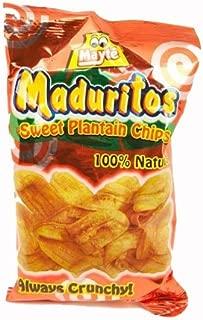 Sweet Plantain Chips / Maduritos Dulcesitos 3.3oz 2 Pack
