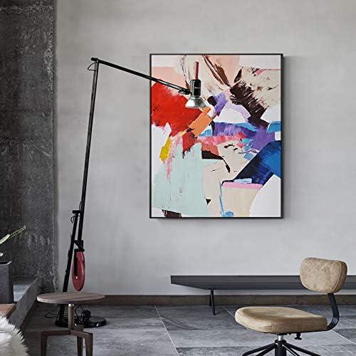 QIAISHI Abstrakte Farbe Splash Leinwand Malerei Poster drucken einzigartige Dekor Wandkunst Bild für Wohnzimmer Schlafzimmer DinningRoom Gang Lobby
