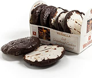 Weissella Soft Chocolate Covered Gingerbread Cookies (7.05 ounce)