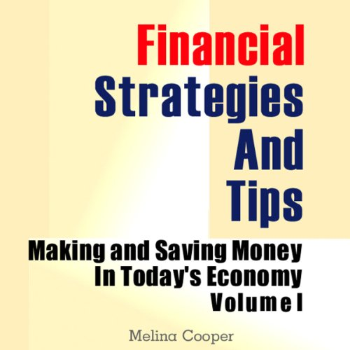 Financial Strategies and Tips audiobook cover art