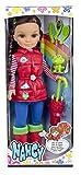 Nancy Set con muñeca y accesorios de lluvia (Famosa 700012728)
